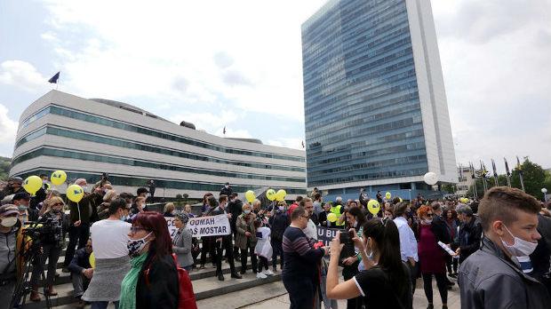 Protestna šetnja u Sarajevu
