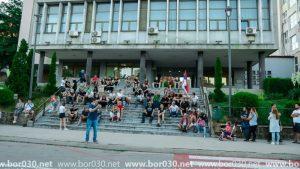 Protestu se pridružili i Borani