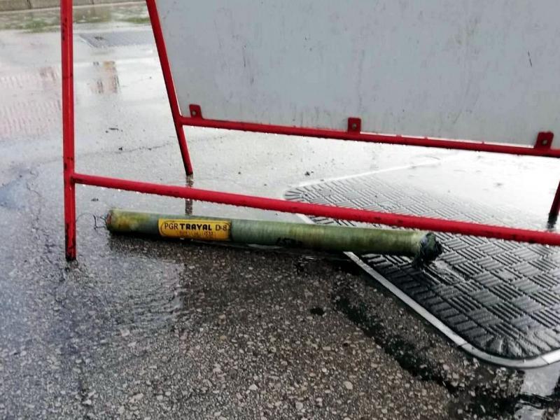 Protivgradna raketa pala u blizini pumpe u Nišu, nema povređenih