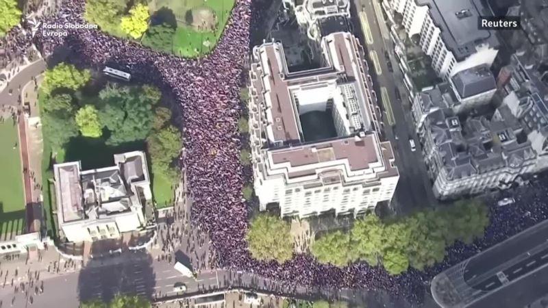 Protivnici Brexita protestuju u Londonu