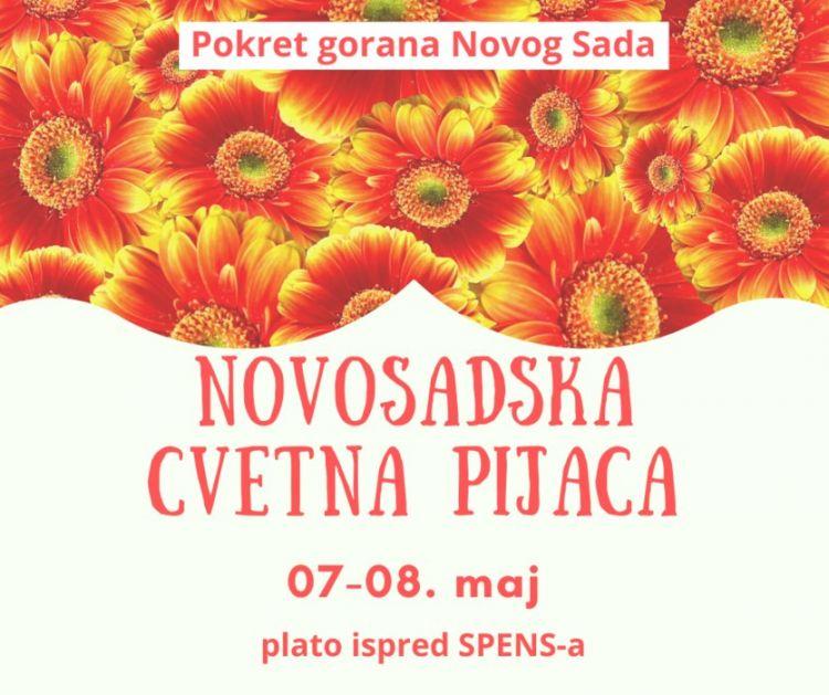 Prva prolećna Novosadska cvetna pijaca