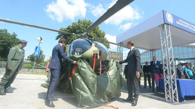 Prvi Erbasov helikopter predat Srbiji