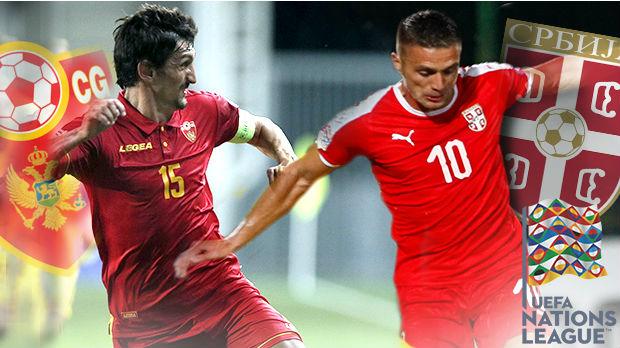 Prvi fudbalski duel Crne Gore i Srbije