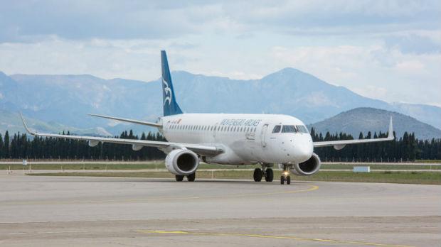 Prvi let Montenegro erlajnsa biće za Beograd
