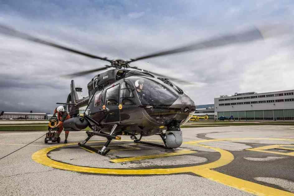 Prvi let naoružanog helikoptera H145M sa sistemom za upravljanje vatrom HForce, Srbija prvi korisnik