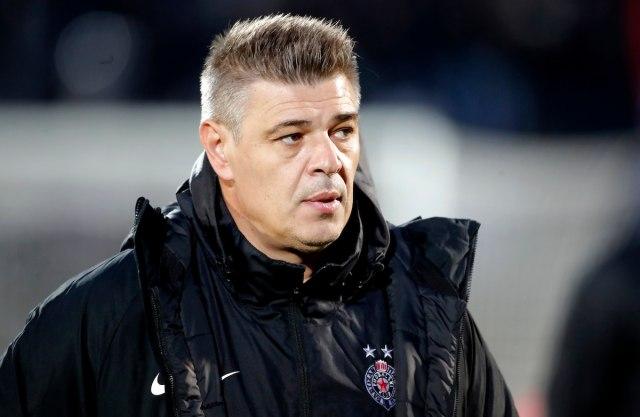Prvi put me je sramota što sam trener Partizana