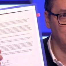Prvi put prikazan sporazum potpisan sa Trampom: KO JE PRIZNAO KOSOVO - Vučić javno pokazao dokument iz Vašingtona