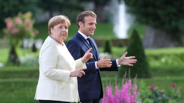 Prvi susret Merkelove i Makrona od početka pandemije