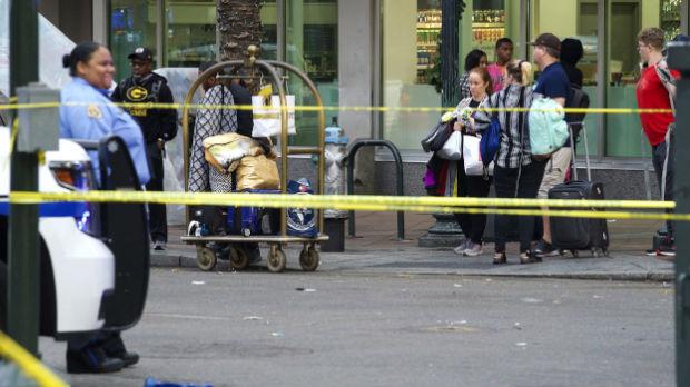 Pucnjava u Nju Orleansu, 11 osoba povređeno