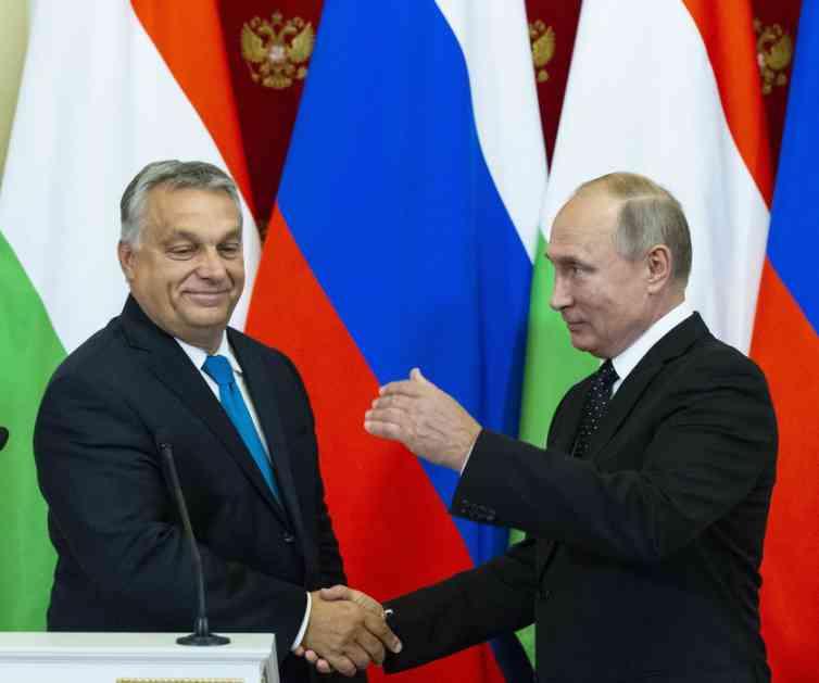 Putin: Deo Turskog toka može proći kroz Mađarsku
