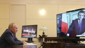 Putin Makronu: Neprihvatljivi pokušaji mešanja u stvari Belorusije