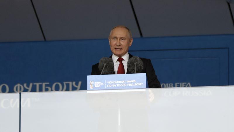 Putin: Milijarde ujedinjene u jednom fudbalskom timu