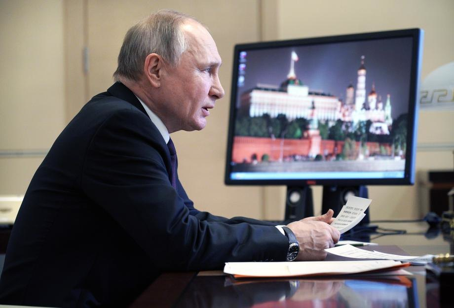 Putin: Žestoko i brzo ćemo odgovoriti na strane provokacije; Korona je glavna pretnja, zdravstvo na ivici revolucije