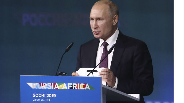 Putin: Razvoj odnosa sa Afrikom među prioritetima