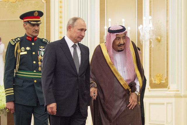 Saradnja Moskve i Rijada ključna za Bliski istok; Putinov poklon - soko sa Kamčatke