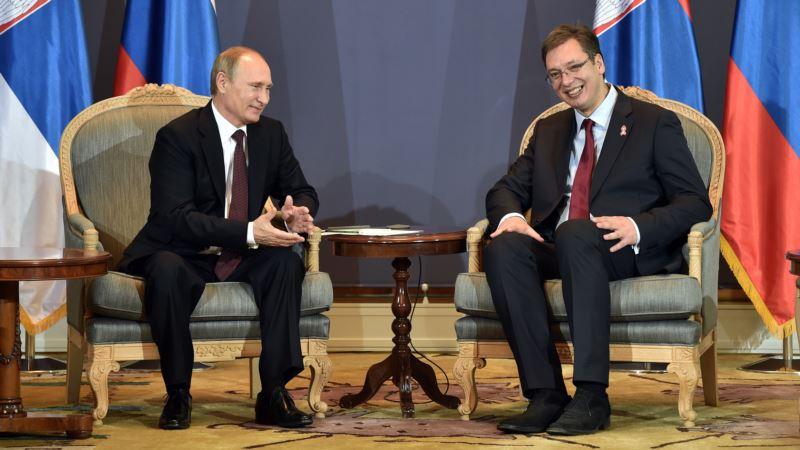 Putin dodelio orden Vučiću