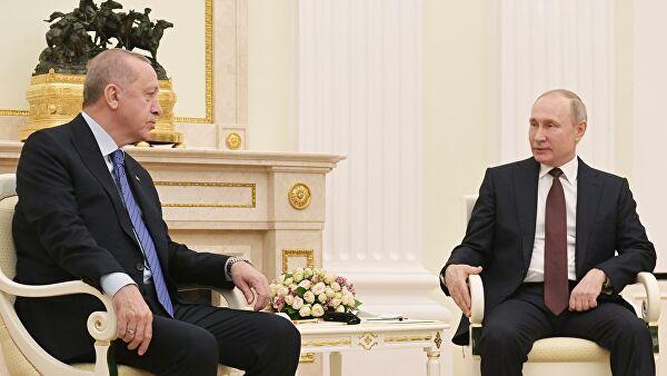 Putin i Erdogan razgovarali o situaciji u Siriji i Libiji