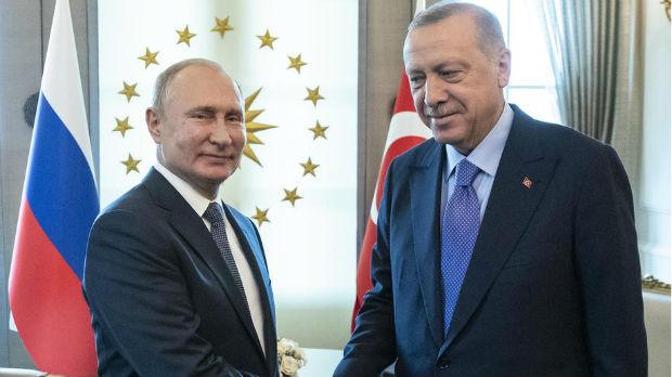 Putin i Erdogan za političko rešenje sirijske krize