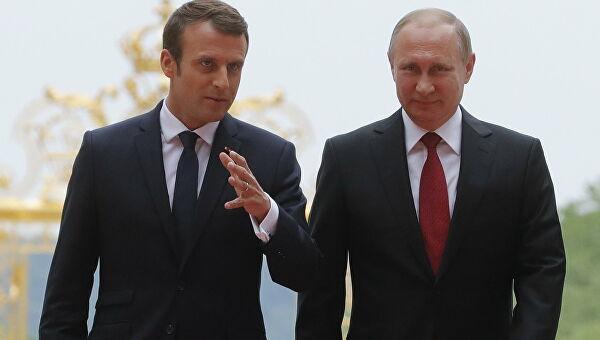 Putin i Makron razgovarali o situaciji u Belorusiji, Libanu, Ukrajini, kao i o pandemiji koronavirusa