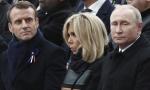 Putin i Makron se kratko sreli na ispraćaju Širaka