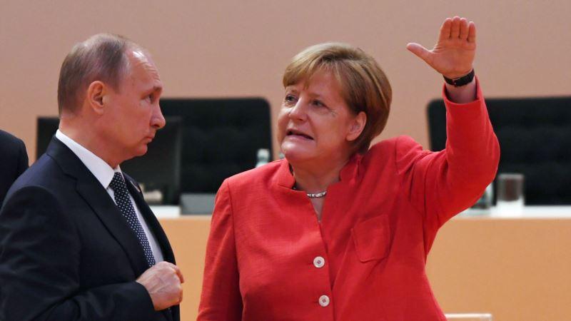Putin i Merkel za objektivnu istragu o kemijskom napadu