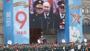 Putin na vojnoj paradi čestitao Dan pobede nad fašizmom (FOTO)