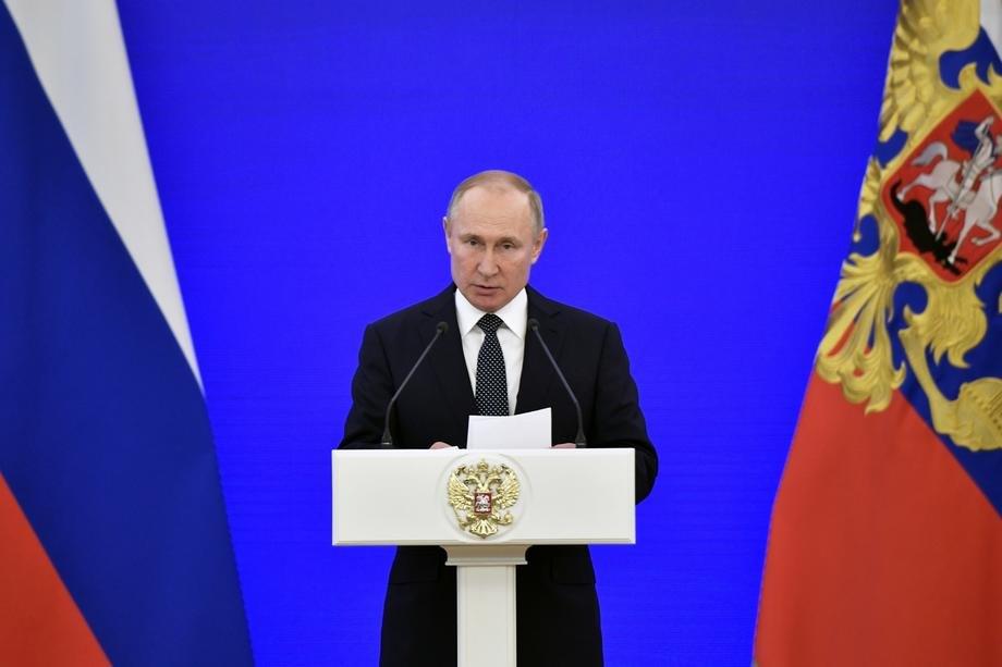 Putin o značaju društvenih amandmana na ruski Ustav