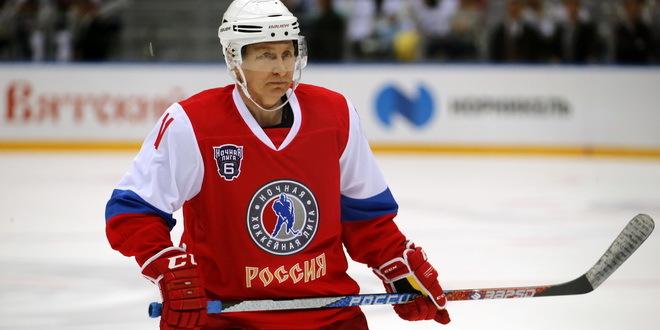 Putin postigao nekoliko golova na hokejaškoj utakmici
