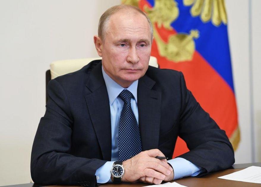 Putin prvi put u javnosti posle više nedelja