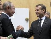 Putin s Makronom na dva minuta, odbio da ruča u Jelisejskoj palati