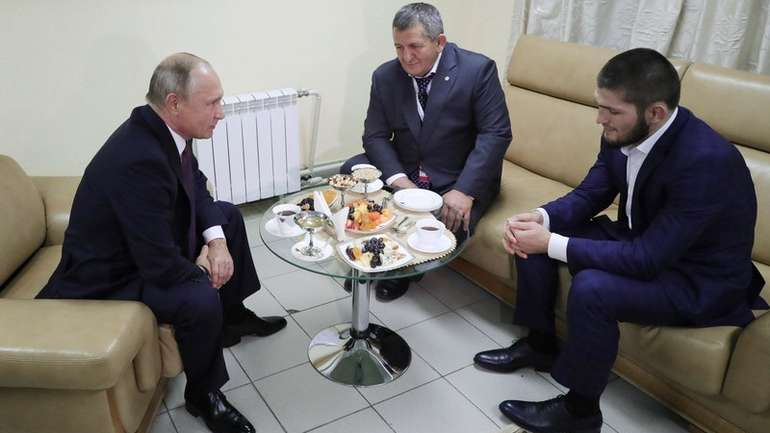 Putin se susreo sa UFC prvakom Khabibom Nurmagomedovim
