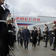Putin stigao u Pariz na pregovore u normandijskom formatu: Očekuje ga i sastanak sa ukrajinskim predsednikom (VIDEO)