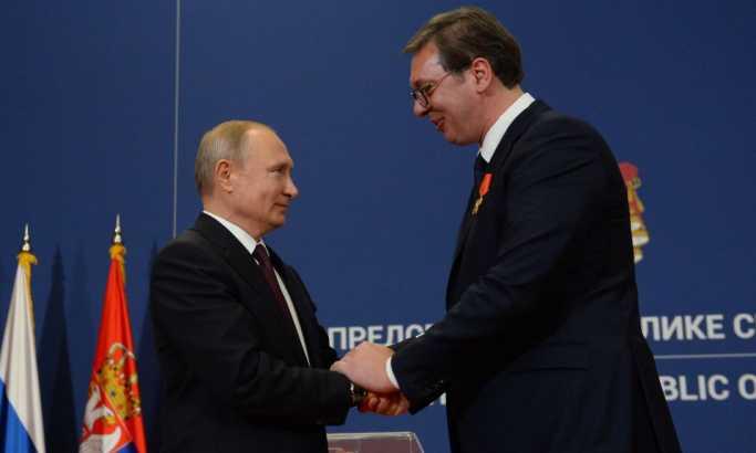Putin uručio orden Vučiću (FOTO, VIDEO)