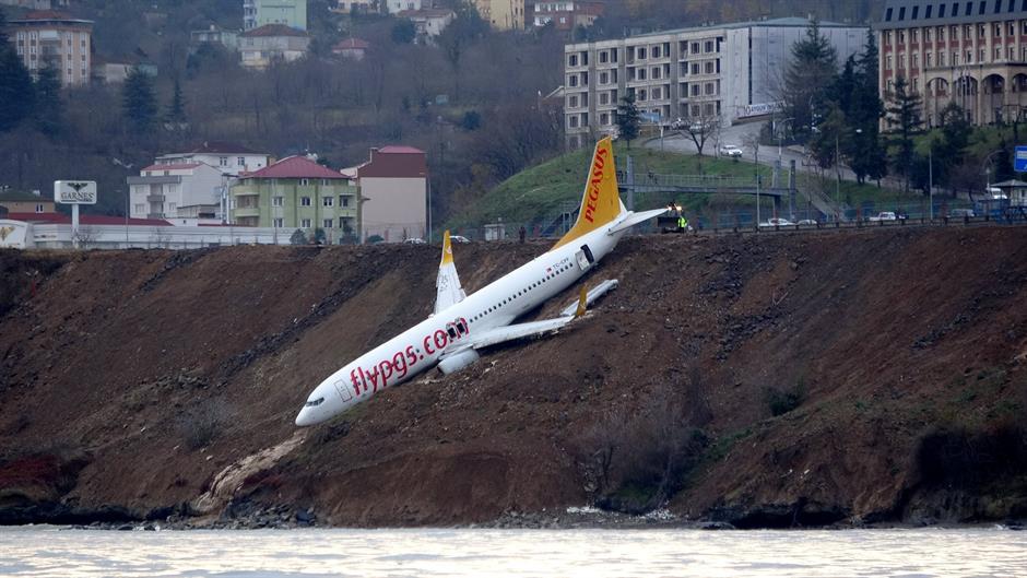 Putnički avion skliznuo s piste u Turskoj
