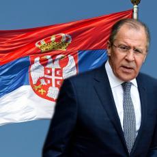 RAČUNAJTE NA RUSIJU Lavrov uputio podršku Srbiji, Moskva zna šta se dešava na KiM (FOTO)