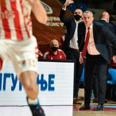 RADONJIĆ ZADOVOLJAN UPRKOS PADU: Idemo u Podgoricu po pobedu