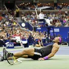 RAFA JE BIO MRTAV: Nadalov trener otkrio šokantne detalje iz svlačionice posle osvajanja US opena