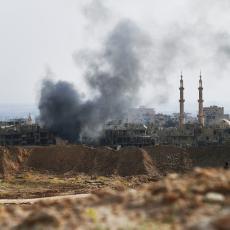 RAKETE ZASULE VERNE AMERIČKE SAVEZNIKE U SIRIJI: Opšta panika zavladala, podignuti avioni i helikopteri