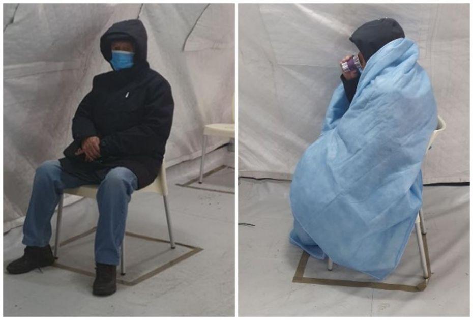 RASPAD HRVATSKOG ZDRAVSTVA ZBOG KORONE: Pacijent sa upalom pluća čeka 9 sati u hladnom šatoru (FOTO)