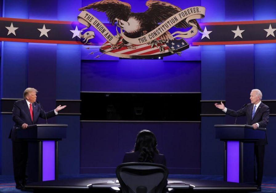 RASPRAVE O KORONI, IMIGRACIJI, KRIMINALU, POREZU: Pljuštale optužbe tokom poslednje debate Trampa i Bajdena pred izbore u SAD