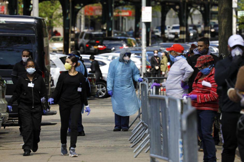 RASTE BROJ ZARAŽENIH KORONOM U SAD Ima čak 20 žarišta, najviše obolelih u Viskonsinu i Njujorku: Pacijenti ležali po hodnicima