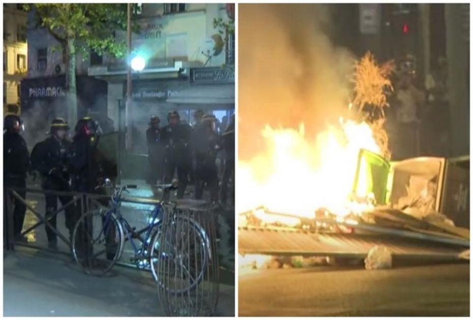 RASTURAJU PARIZ ZBOG UBJENOG CRNCA: Nemiri u francuskoj prestonici i danas, policija upotrebila suzavac! (VIDEO)