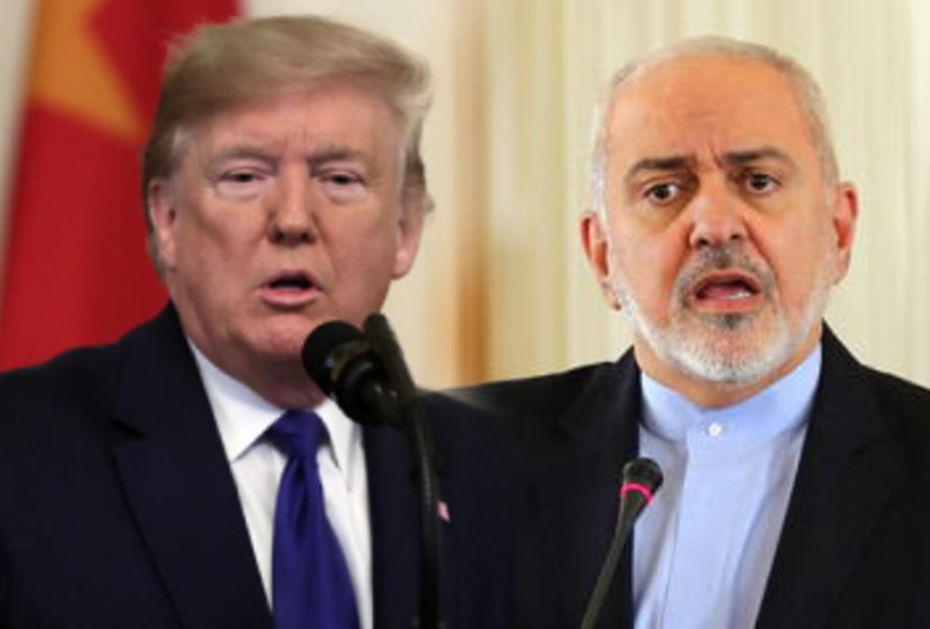 RAT NA TVITERU Zarif: Pregovaraćemo sa SAD ako ukinete sankcije Iranu, Tramp: Ne, hvala!