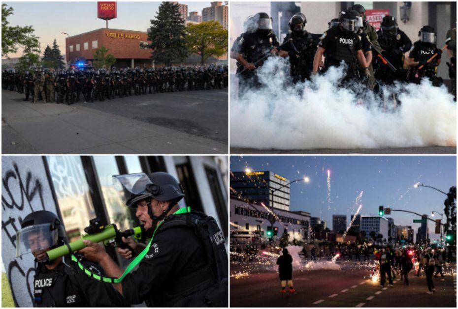 RAT NA ULICAMA AMERIKE: U 25 gradova policijski čas, građani pale, pljačkaju, iskaljuju bes na policiji (FOTO, VIDEO)