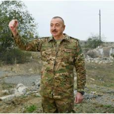 RAT OPTUŽBAMA SE NASTAVLJA: Alijev koristi situaciju, ponovo osuo paljbu po Jermenima