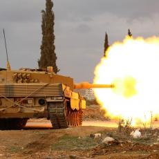 RAZBIŠE IH: Sirijska vojska uništila turske tenkove (VIDEO)
