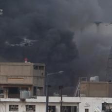 RAZORNA EKSPLOZIJA U BEJRUTU: Helikopteri pristigli u pomoć vatrogascima, mrtvi se broje (FOTO)