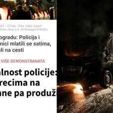 REGION BI DA VIDI SRBIJU NA KOLENIMA, STALI NA STRANU HULIGANA: Osvanuli sramni tekstovi o protestima u Beogradu (FOTO)