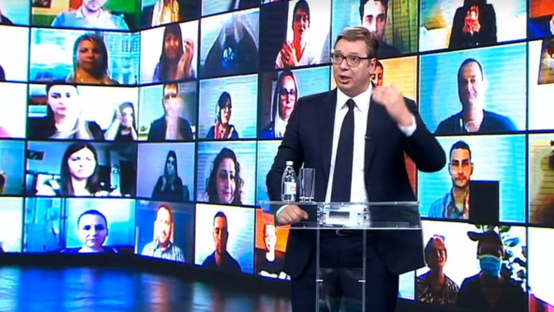 REM zabranio Vučićev spot sa detetom