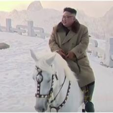 REŠENA VELIKA MISTERIJA SEVERNE KOREJE: Evo čije konje je Kim jahao na svetoj planini (VIDEO)